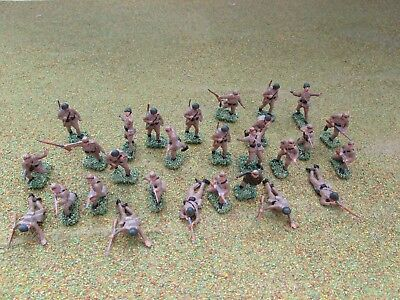 28 x 1/72 20mm WW2 Japanese Infantry Painted
