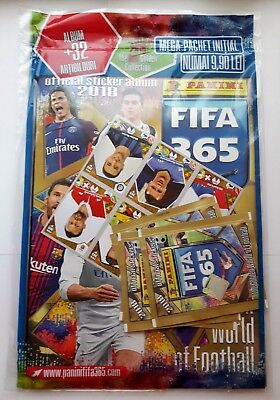 Panini FIFA 365 2018 - Sealed Starter Pack ROMANIAN EDITION (Album+Packs+Sheet)