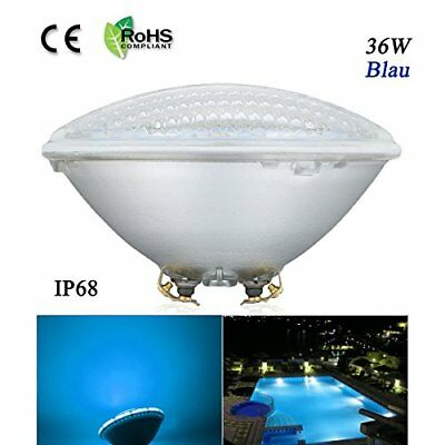 COOLWEST Swimming Pool LED Light PAR56 36W Replacement Pool Lights Bulb 12V