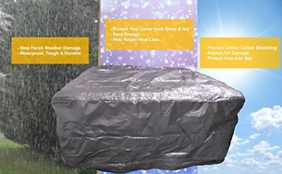 Hot Tub protection Bag, Winter Weather Proof Spa Cover (2000 x 2000 x 1020 )