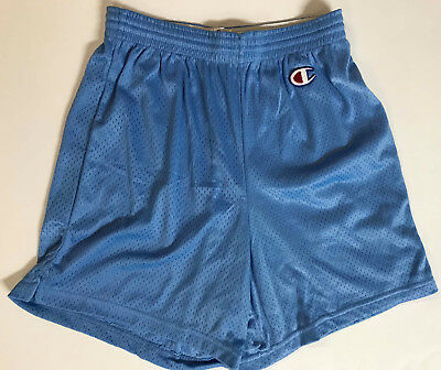Men's Vintage Logo Mesh Champion Running Basketball Shorts Sz Small Old School