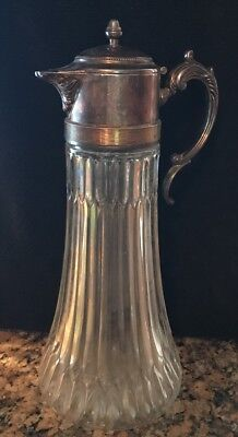 Decanter or Pitcher F.B. Rogers Silver Company Italy