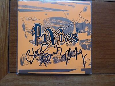 Pixies Indie Cindy Vinyl Signed by Band Excellent Condition