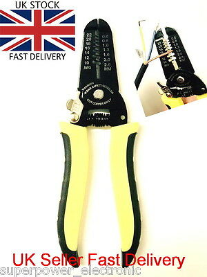 Professional Automatic Wire Striper Cutter Handle Tool Wire Stripper Stripping