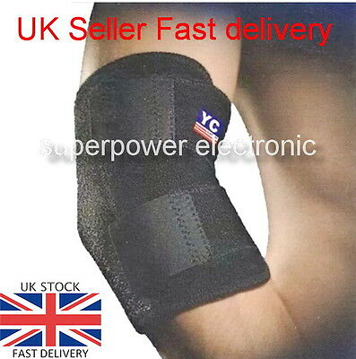 Adjustable Elbow Support Tennis Arthritis Strap Brace YC NHS Use
