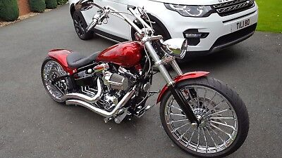 Awesome Harley Davidson Softail Breakout