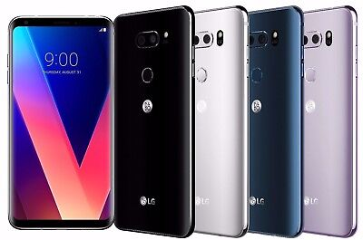 "LG V30+ H930DS 128GB (FACTORY UNLOCKED) 6.0"" 4GB RAM - Silver Black Violet Blue"