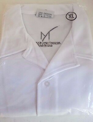 Mirage Resort Spa Casino Las Vegas Button Down Long Sleeve White Shirt XL