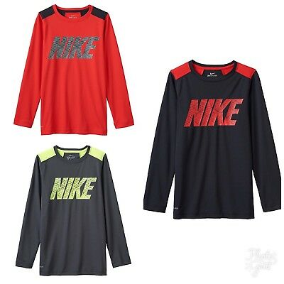 NWT Boy's Nike Dri-Fit Legacy Long Sleeve Shirt