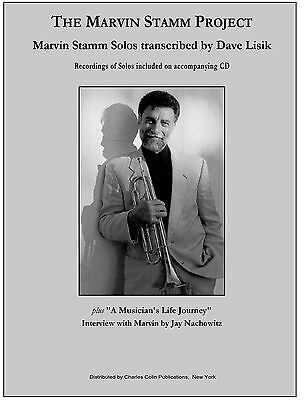 The Marvin Stamm Project - Transcribed solos & CD - Charles Colin Publications
