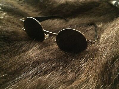 Vintage Gold Sunglasses Gianni versace Mod S984 80S Biggie Tupac Rapper Weed