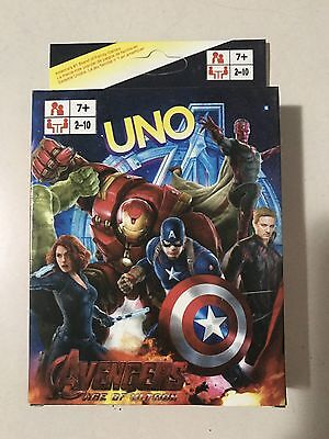 Avengers uno CARDS Family Fun Playing Card Educational Theme Board Game