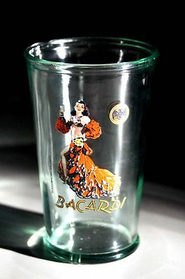 Bacardi Rum 150 Years Celebration glass 10OZ - Limited Edition