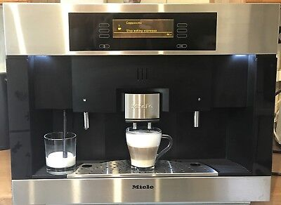 Miele CVA4085 bean to cup integrated automatic cappuccino coffee machine LED