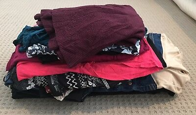Size 8 And 6 Maternity Bundle Clothes - New Look, Next Mamas And Papas