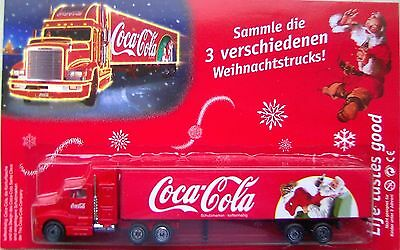 Coca Cola - Santa Claus (Germany) / US Mack truck + trailer, Scale 1:90