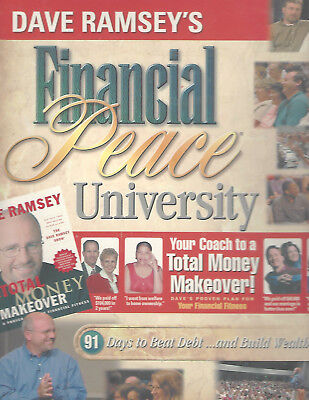 Dave Ramsey FINANCIAL PEACE UNIVERSITY Kit 99% Complete, USED