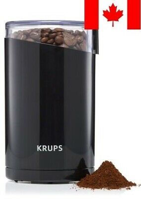 KRUPS Electric Spice and Coffee Grinder with Stainless Steel Blades, 3-Ounce, Bl