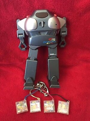 2001 Tiger Electronics Hit Clips Dance-Bot - Includes 4 Hit Clips - RARE-VINTAGE