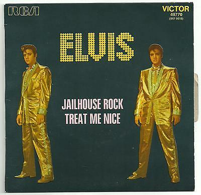 Elvis Presley - 3 scarce picture sleeve reissue singles from France.