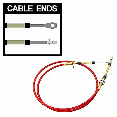 B&M Style Shifter Cable 5 ft. Length Heavy Duty Quicksilver  Mega Pro Ratchet
