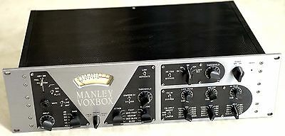 Manley VOXBOX - Class A Thermionic Valve/Tube Microphone Preamplifier