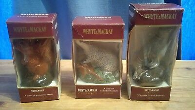 3 Beswick - Whyte & Mackay Souvenirs - (Empty) - Boxed