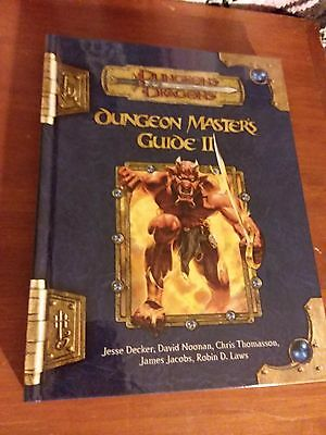 Dungeons & Dragons 3.5e: Dungeon Master's Guide II (NEW HC; Free Shipping)