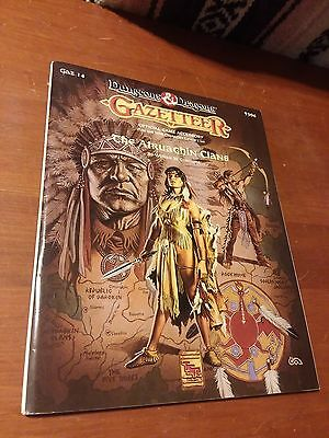 AD&D Greyhawk Gazetteer Collection x4  (Free Shipping; All VF shape or better)