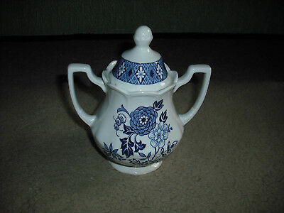 Royal Staffordshire CATHAY IRONSTONE BY J & G Meakin ENGLAND Sugar BOWL W/ TOP.