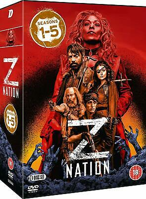 Z NATION 1-5 (2014-2018): COMPLETE Zombie Apoc. TV Season Series - R2 DVD not US
