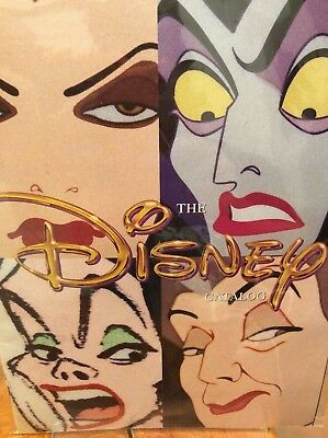 Disney catalog, -Villains cover -1996