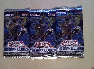 Yu Gi Oh 3 Booster THE DARK ILLUSION deutsch Neu & Ovp!