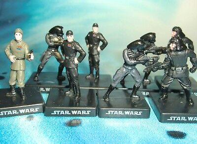 Star Wars Miniatures Lot  Death Star Trooper Imperial Officer !!  s97