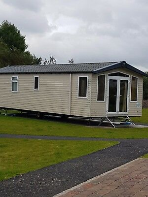 prestige caravan on craig tara for hire