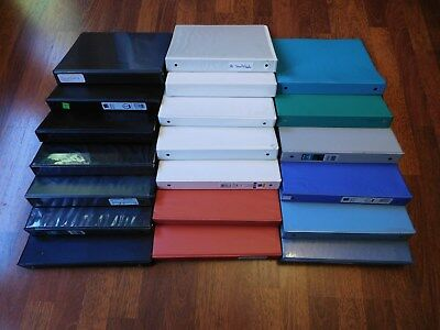 Lot of 20 Used 3 Ring Binders - 1""