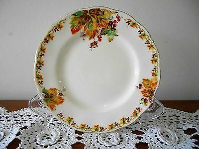 GRINDLEY CREAMPETAL 'AUTUMN PRIDE' SIDE PLATE ENGLAND C1930s