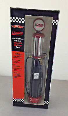 Crown Premiums Lennox Limited Edition Die Cast Wayne 615 Gas Pump Bank NIB