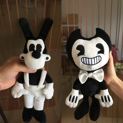 Large Size Bendy and the ink machine Bendy and Boris Toy Figure Plush Doll 35cm