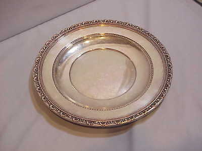 """10 1/2"""" Sterling Plate Reed and Barton Pattern Medici outstanding"""