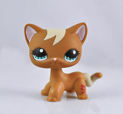 Littlest Pet Short Hair Cat Animal child girl boy figure loose cute LPS846
