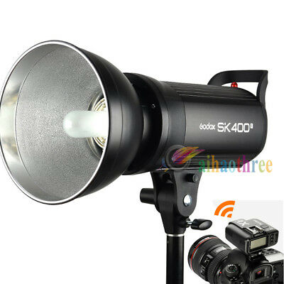 Godox SK400II 400W 2.4G Wireless X System Flash Strobe Light + X1T Trigger【AU】