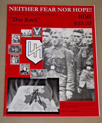 """Neither Fear Nor Hope! : 2nd SS-Division """"Das Reich"""" 14 scenarios UNUSED HOB OOP"""