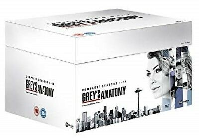 GREY'S ANATOMY 1-14 2005-2018 Hospital Drama TV Seasons Series NEW R2 DVD not US