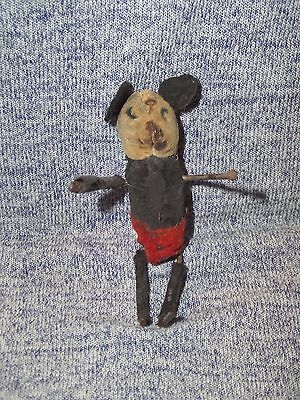 Vintage Mickey Mouse Wind Up Children Toy