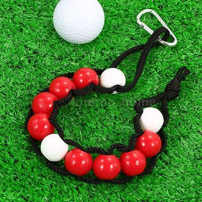 New Golf Beads Count Stroke Score Counter Plastic Ball Marker Fast Shipping U0P7