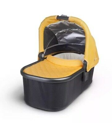 Uppababy Vista Bassinet Yellow And Bassinet Adapters