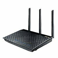 ASUS 90-IGY7002M01-3PA0- RT-AC66U Router WLAN 1 Gbps 4-Port Kabellos USB Ex ~D~