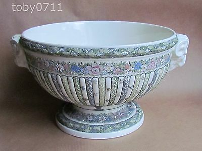 Wedgwood Edme Large Rams Head Footed Bowl - Very Rare & Unusual