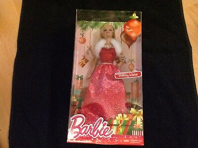 Barbie - Christmas Holiday Wishes - Brand New - MIB